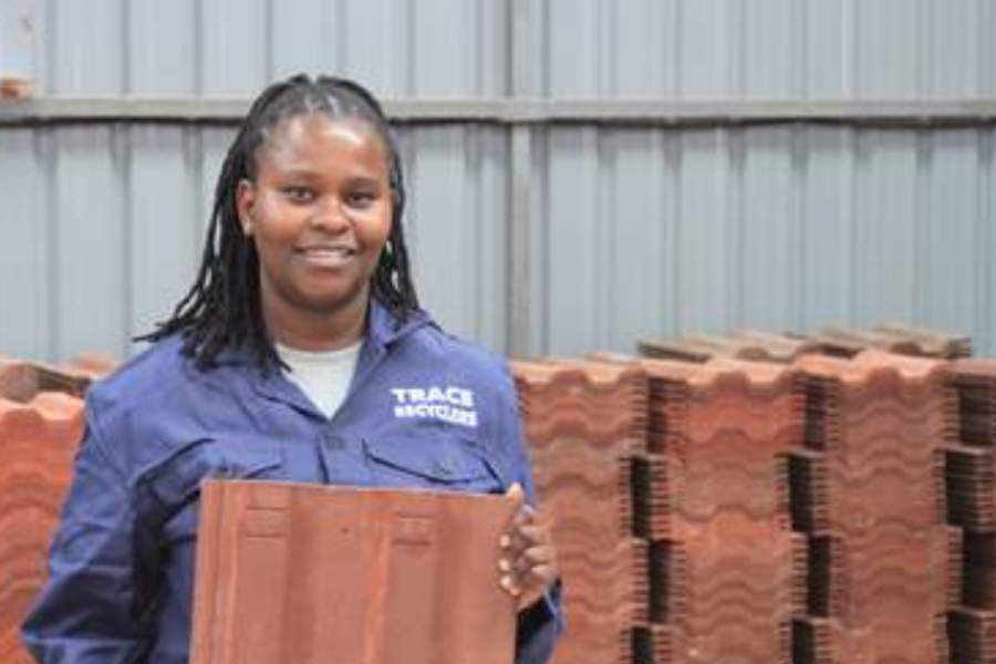 Eco Blocks and Tiles gets support from Mondi logo